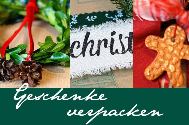 DIY Weihnachten - die schönsten Verpackungsideen