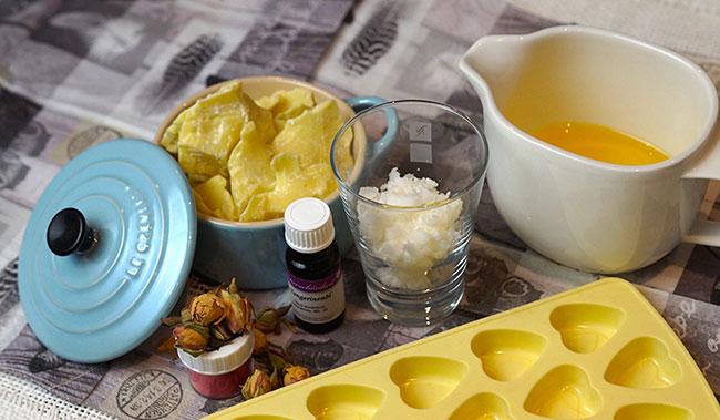 Zutaten Butterpralinen - Naturkosmetik Rezepte