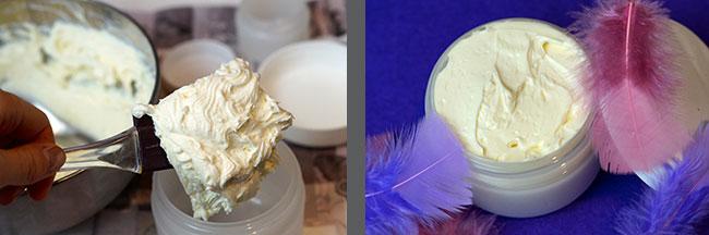 Butter abfüllen - selbstgemachte Bodybutter - Naturkosmetik