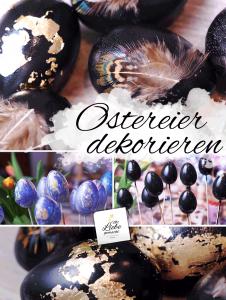 Ostereier festlich dekorieren