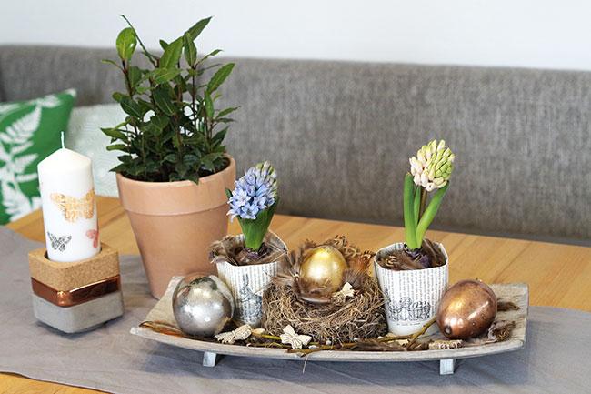 dekoidee ostern fr hling mit liebe gemacht mit liebe gemacht. Black Bedroom Furniture Sets. Home Design Ideas