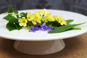 Frühlingstee Zutaten