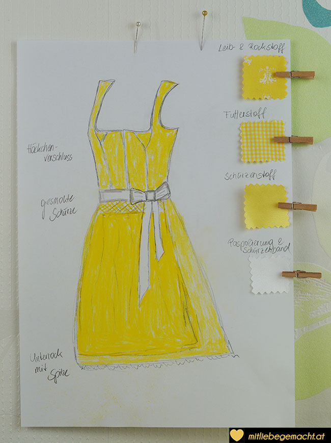 Design Sommerdirndl