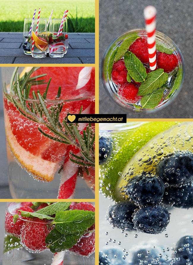 Wasser mit Geschmack Rezepte Zusammenfassung
