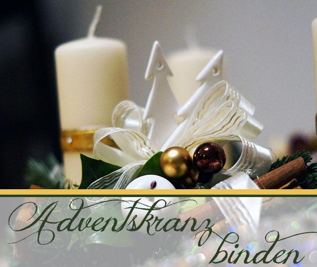 adventskranz binden mit liebe gemacht mit liebe gemacht. Black Bedroom Furniture Sets. Home Design Ideas