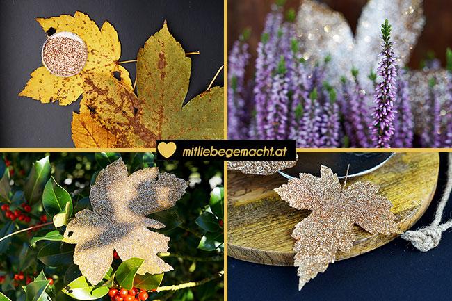 Goldene Blätter - Goldener Herbst