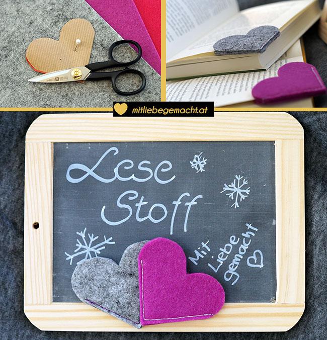 last minute geschenke lesezeichen n hen mit liebe gemacht mit liebe gemacht. Black Bedroom Furniture Sets. Home Design Ideas