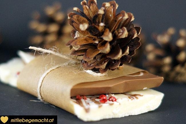 Ein süßes mit Liebe gemachtes Geschenk