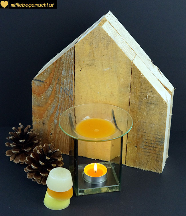 Duftlampe mit Aroma Melts