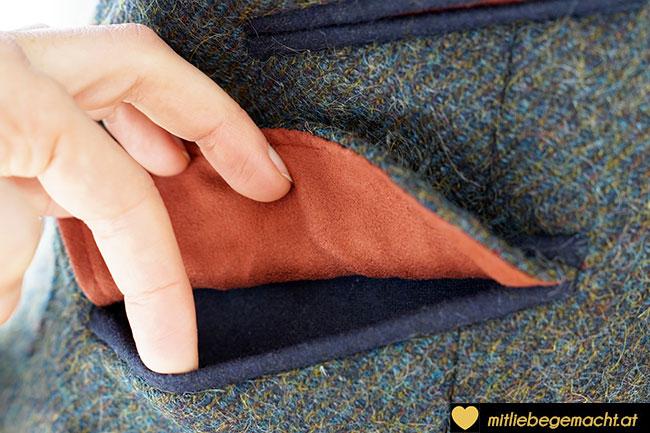 Taschendetail Trachtenblazer