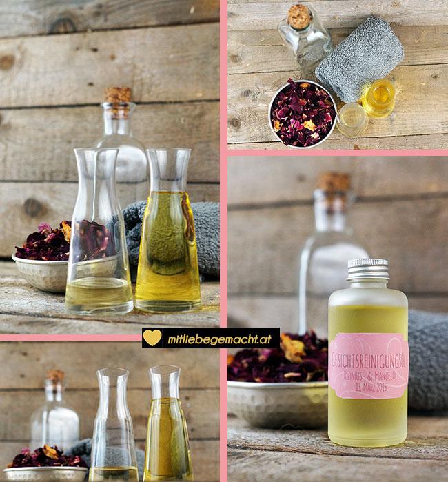 Reinigung mit Öl - OCM - Oil Cleansing Method - natürliche Kosmetik selber machen