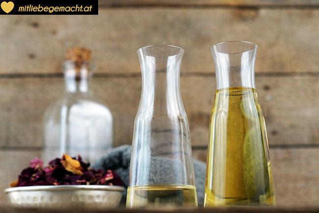 Reinigung mit Öl - Naturkosmetik