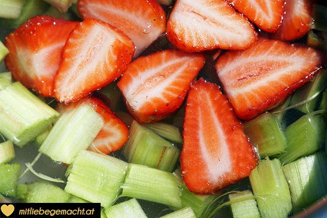 Früchte aufkochen