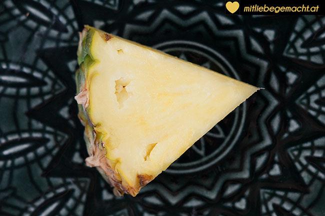 Vitaminbombe Ananas - Natürliche Inhaltsstoffe Kosmetik