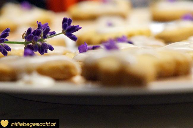 wunderbare Lavendelkekse