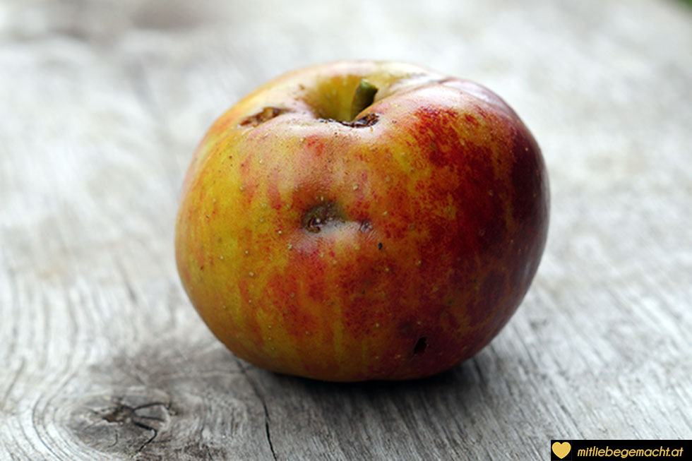 Gesunder Apfel