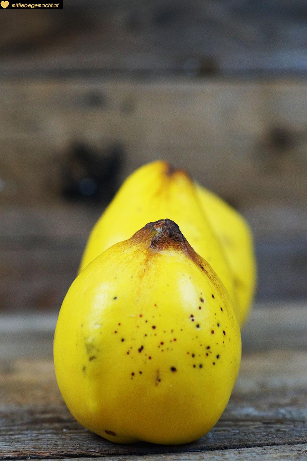 Quitten - fast vergessene Früchte
