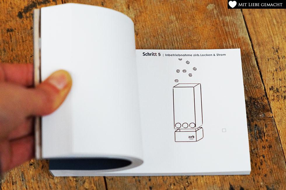 die Anleitung kreativ erklärt im Daumenkino