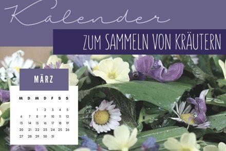 Kräutersammelkalender für März