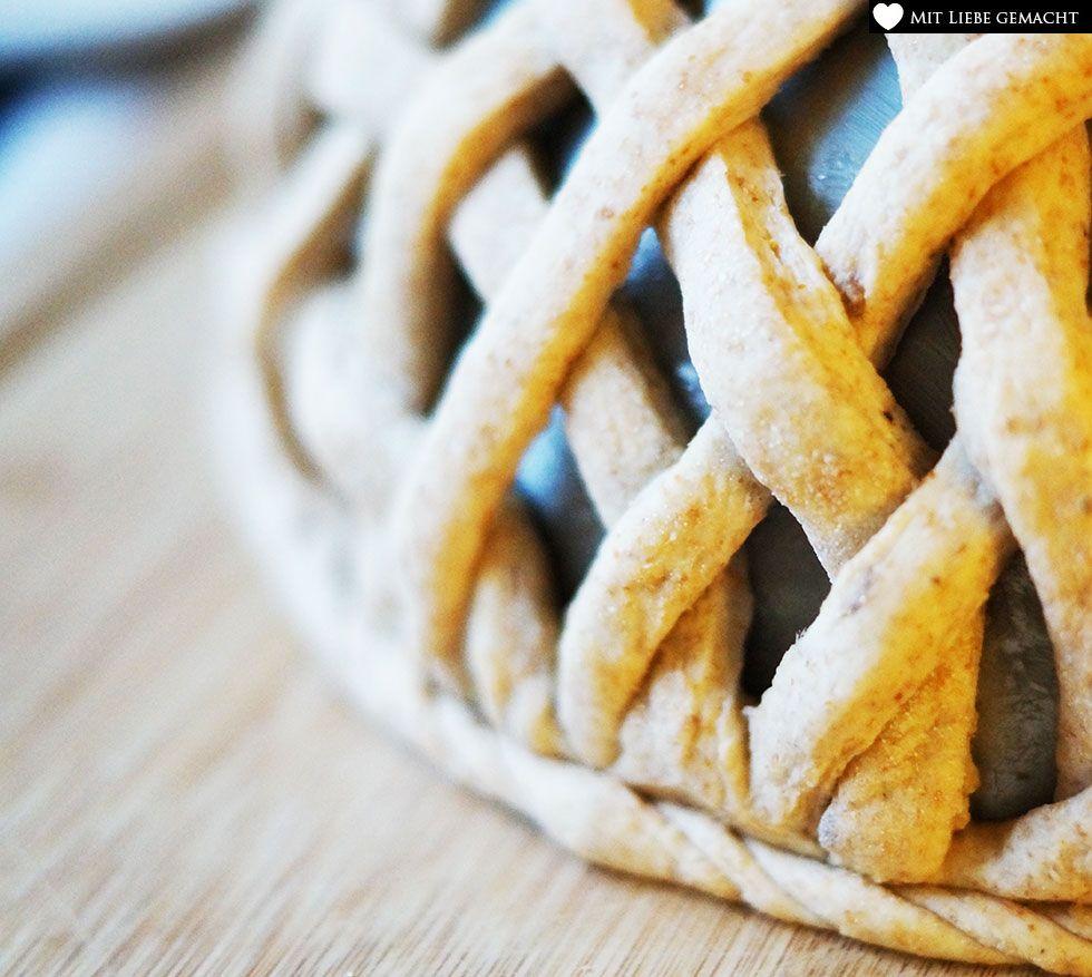 Abschluss für das Brotkörbchen machen
