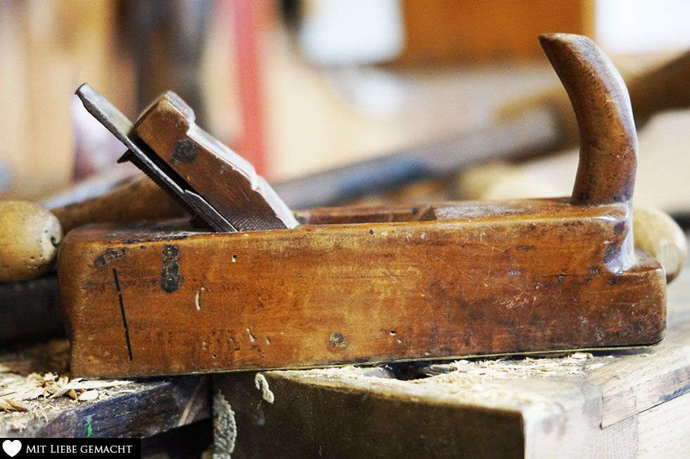 Holzhobel zum Bearbeiten von Holz