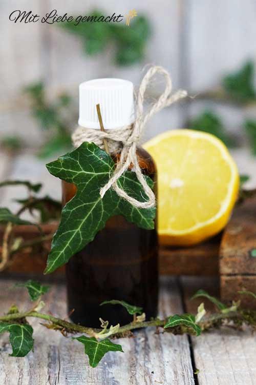 Efeuöl für eine straffe Haut