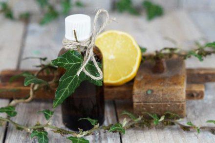 Efeuöl für straffe Haut