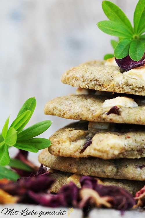 Frühlings Cookies mit besonderen Zutaten