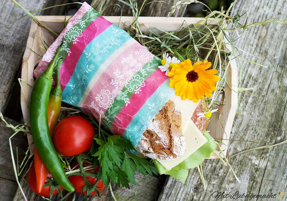 Sandwiches können einfach verpackt werden