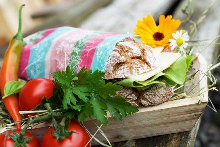 Bienenwachstuch - praktische Foodwraps