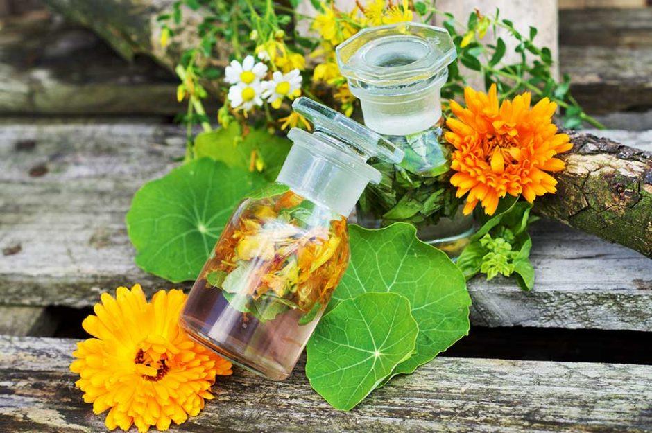 Sole Tinkturen - Heilkräuter konservieren