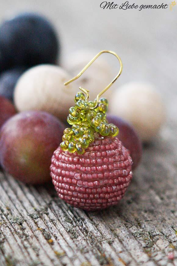 Ohrringe aus Perlen - DIY