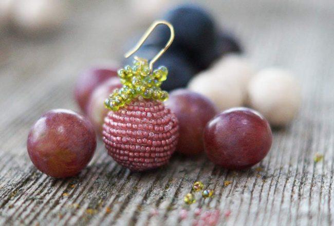 Ohrringe aus Perlen