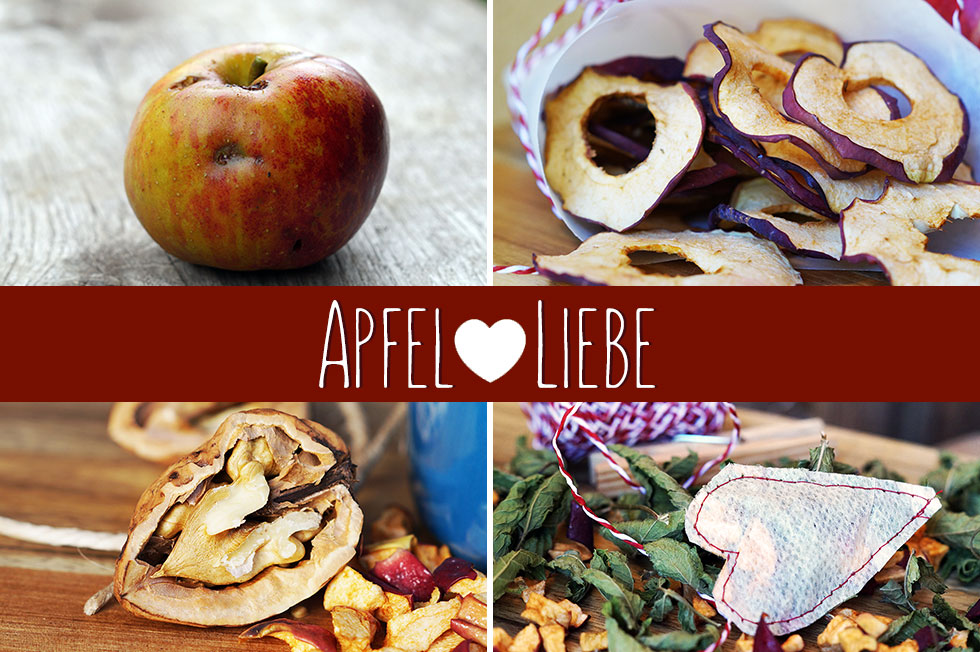 Apfelliebe im Herbst