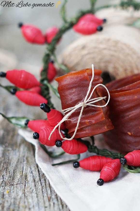 Fruchtleder - mit Liebe zubereitet