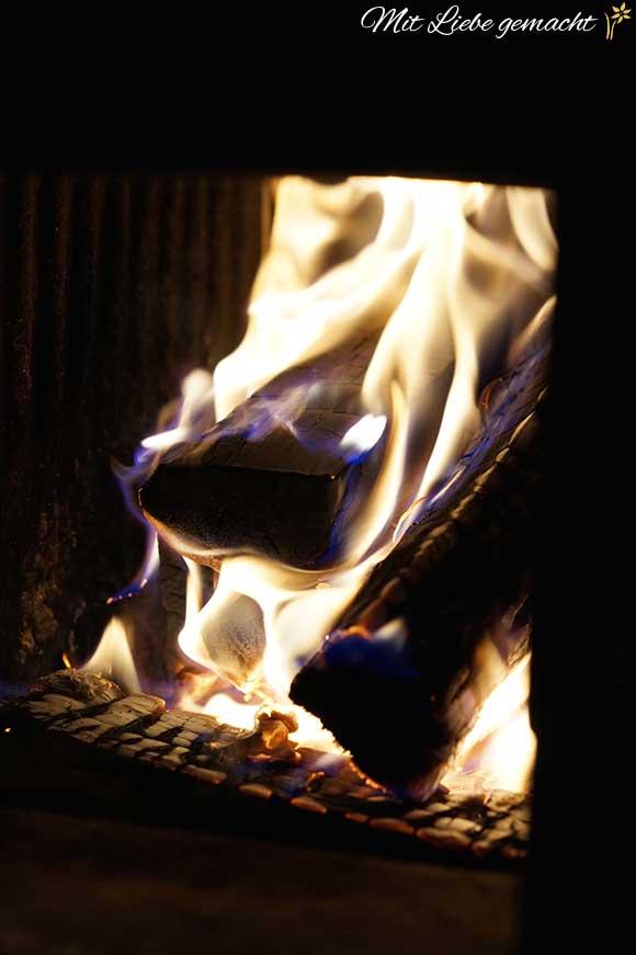Feuer macht es gemütlich