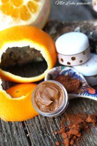 süße Lippenbutter mit Kakao und Orange