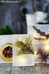 duftende Weihnachtsseife