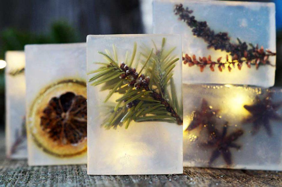Das Beste kommt zum Schluss - ein Stück Natur in einer Seife ...