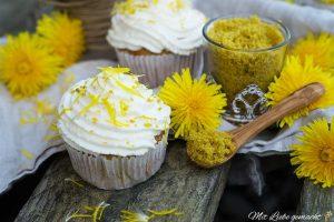 Wildkräuterküche mit Löwenzahnmuffins