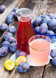 fruchtiger Zwetschkensirup