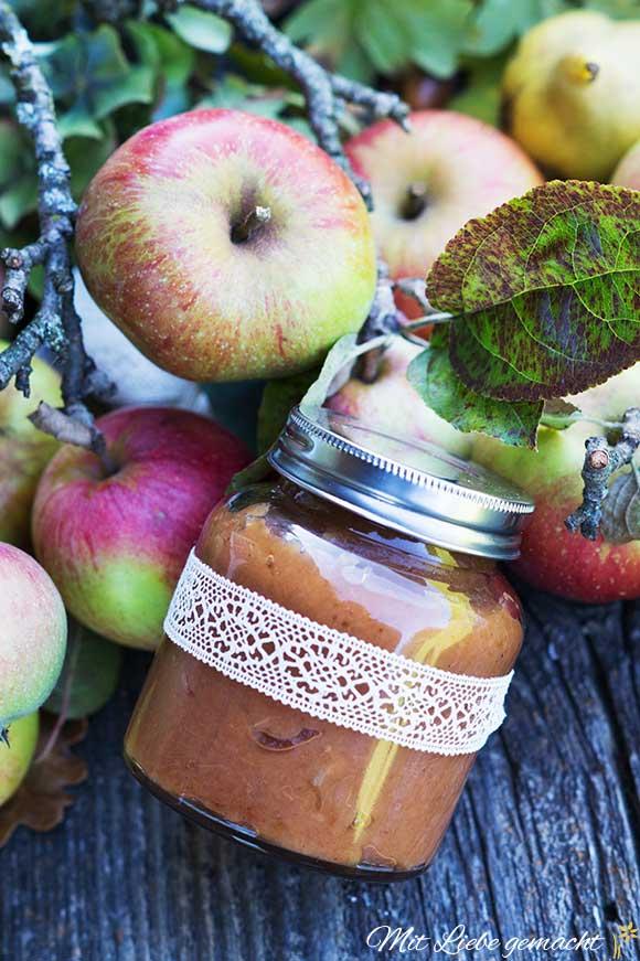 Apfelbutter selbstgemacht