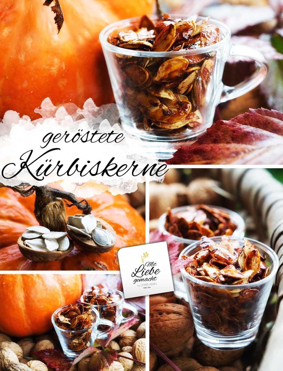 geröstete Kürbiskerne - gesunder Snack