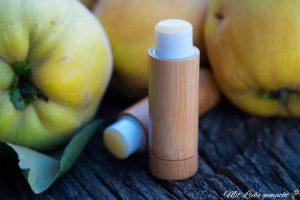 pflegender Lippenbalsam mit Quitte