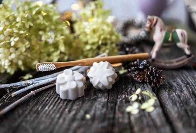 feste Zahnpflege