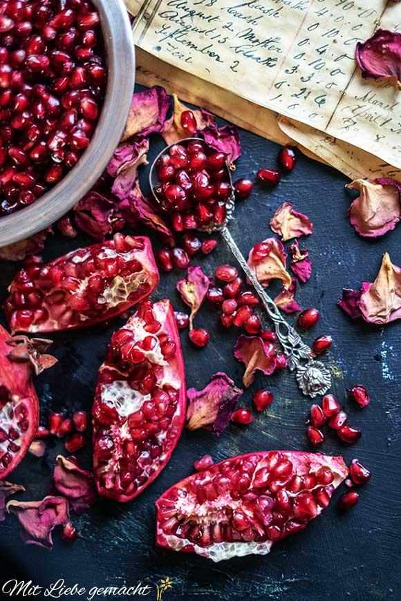 gesunder Granatapfel