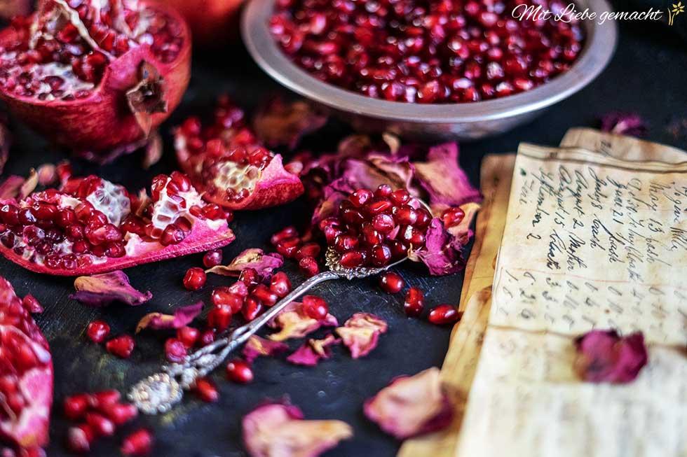 Granatapfelkerne - vielfältig und gesund