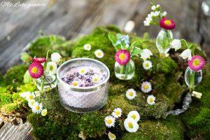 Frühlingshafte Gesichtsmaske