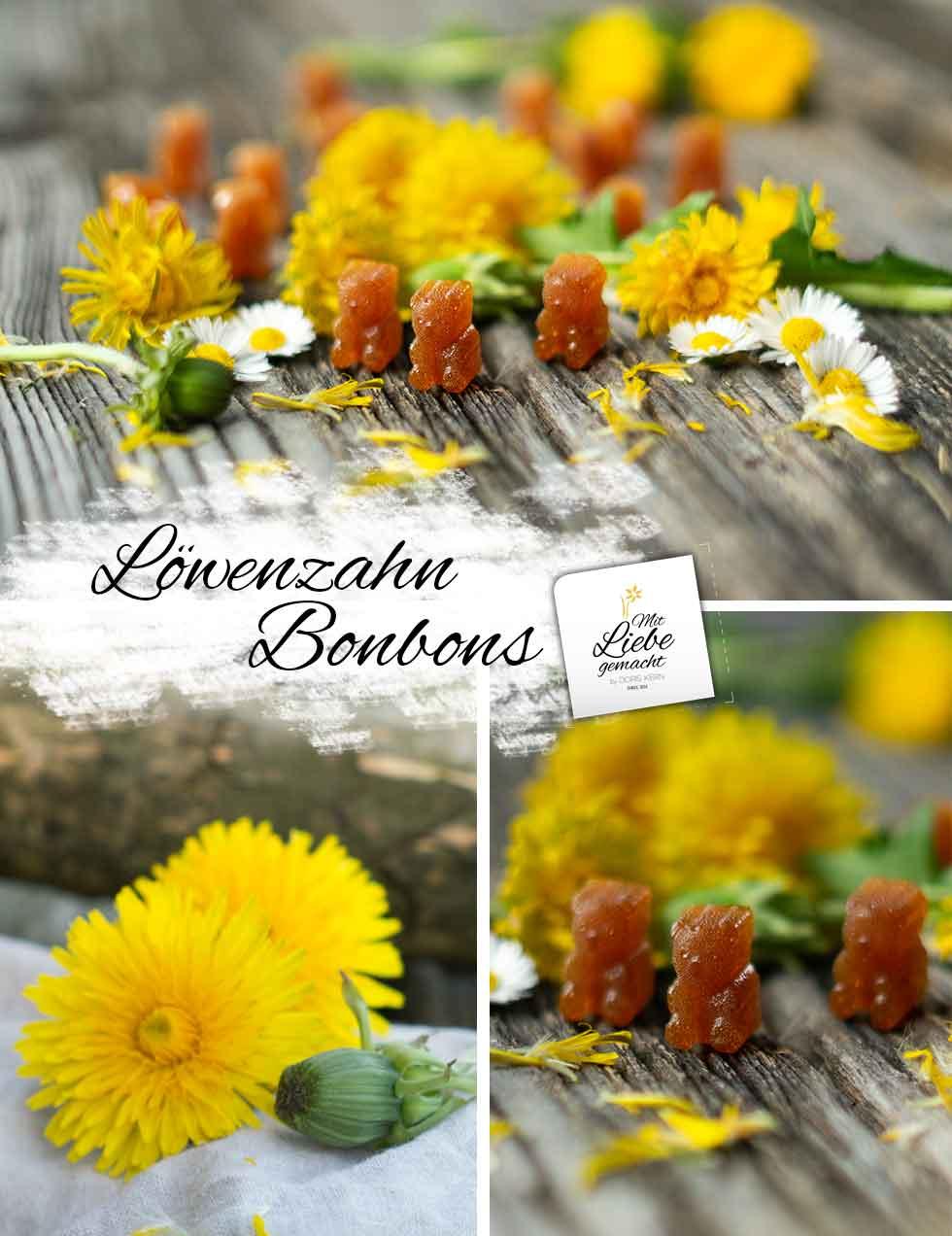 Löwenzahn-Bonbons - herrlicher Genuss