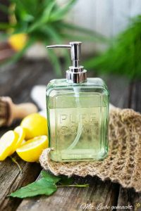 natürliche Reinigungsmittel: Handspüli